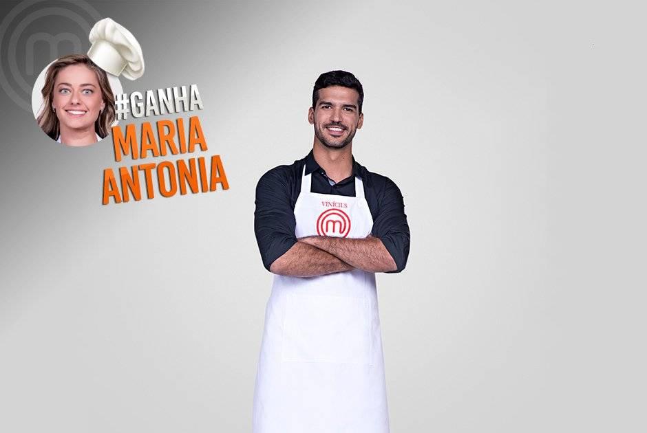 E Vinícius Rossignoli quer que Maria Antonia vença o programa Carlos Reinis/Band