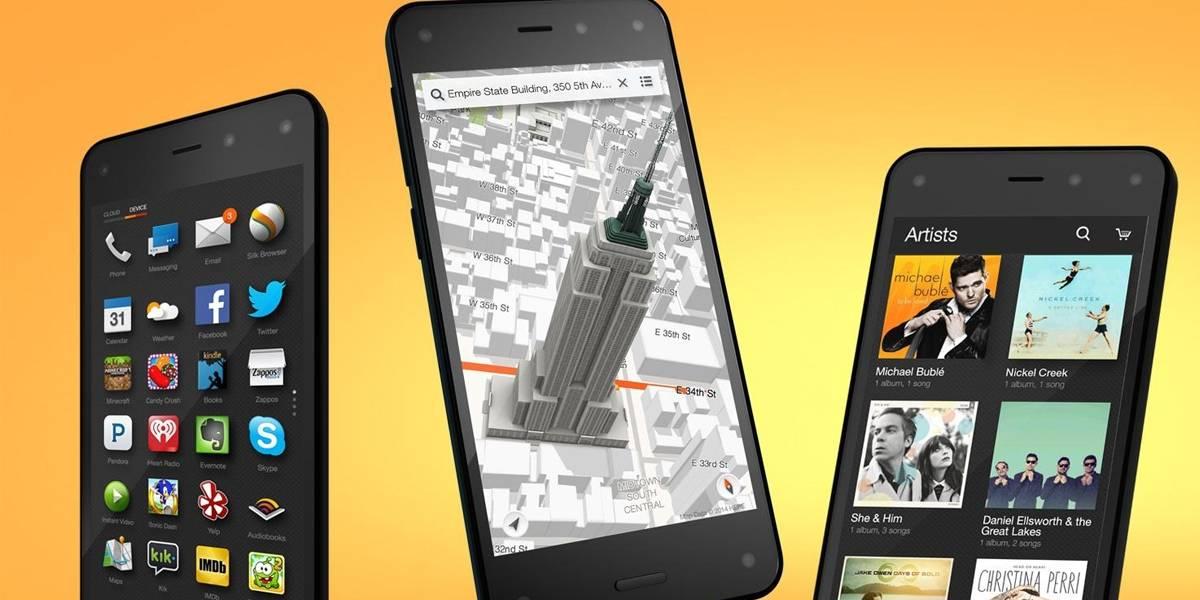 Amazon estaría desarrollando al sucesor del Fire Phone