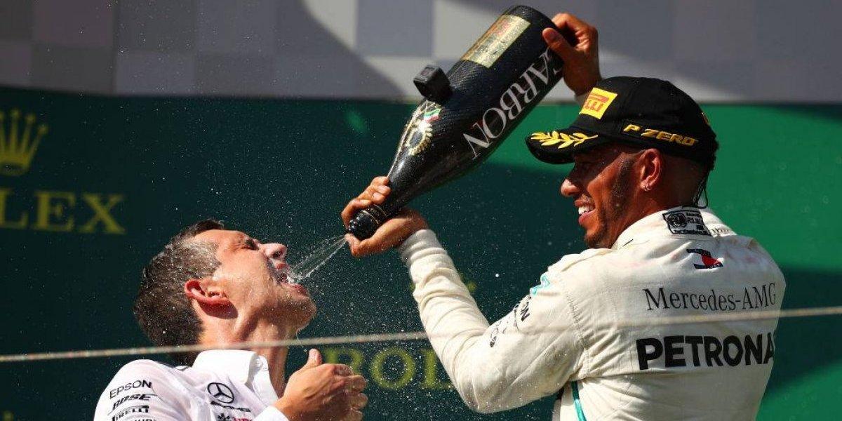 Hamilton fue el mejor en el GP de Hungría y le sacó más ventaja a Vettel en la F1