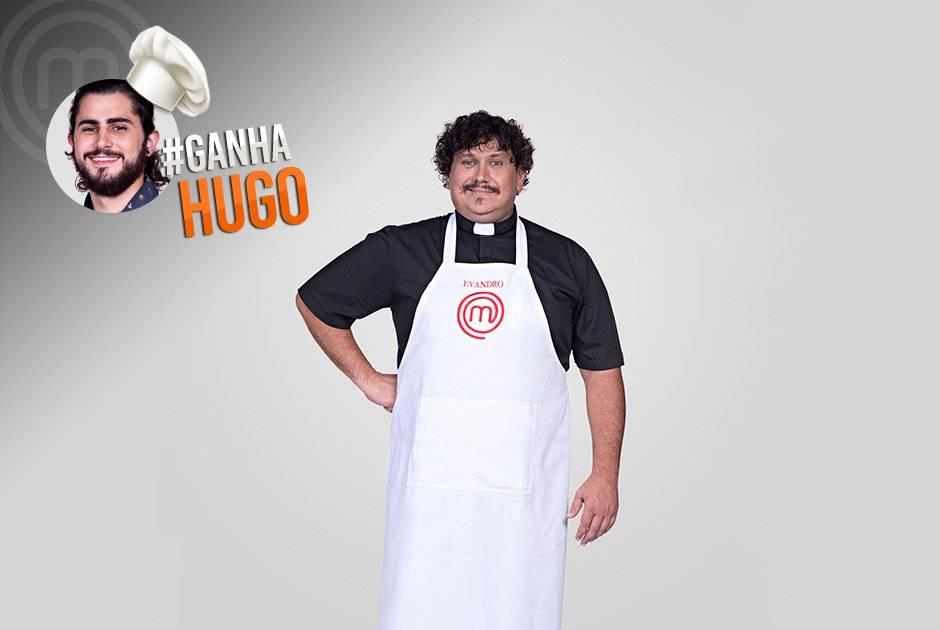 Já o padre Evandro Zanardo está torcendo por Hugo Carlos Reinis/Band