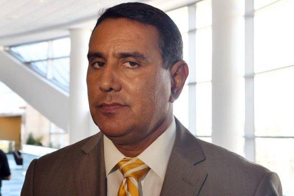 José Román Abreu, alcalde de San Lorenzo.
