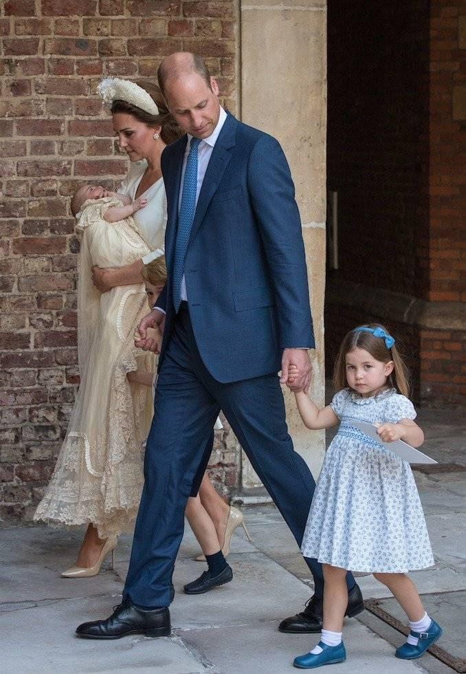 Hace unas semanas, la duquesa de Cambridge fue fotografiada a la salida del servicio cristiano en la Capilla Real St James