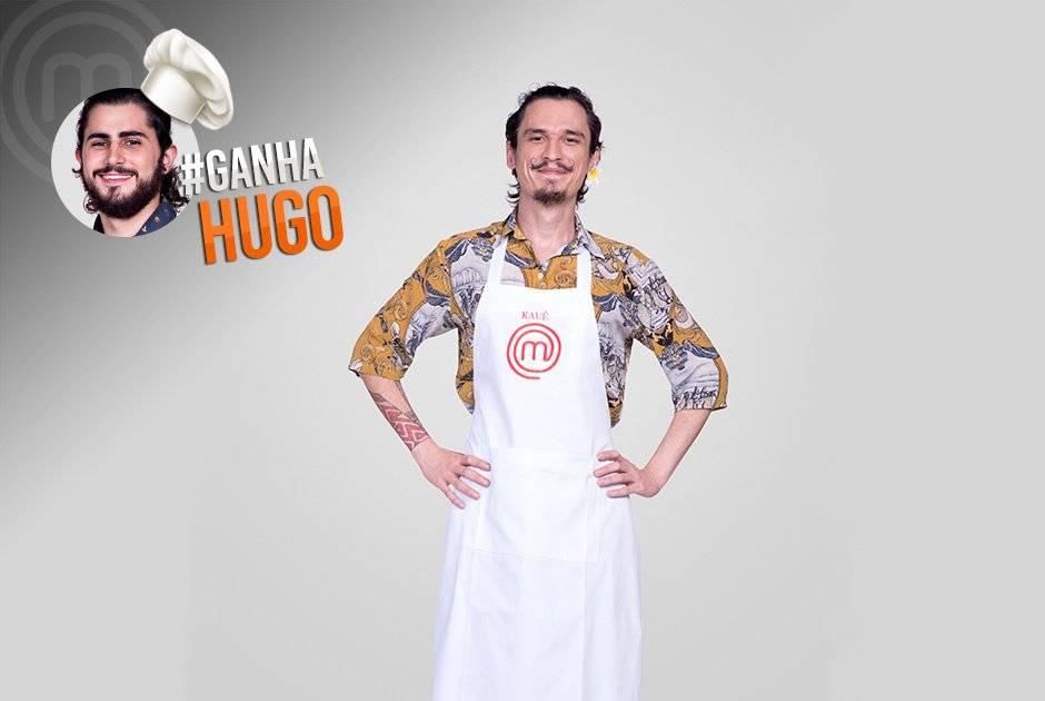 Kauê Pedroso declarou torcida para Hugo Carlos Reinis/Band