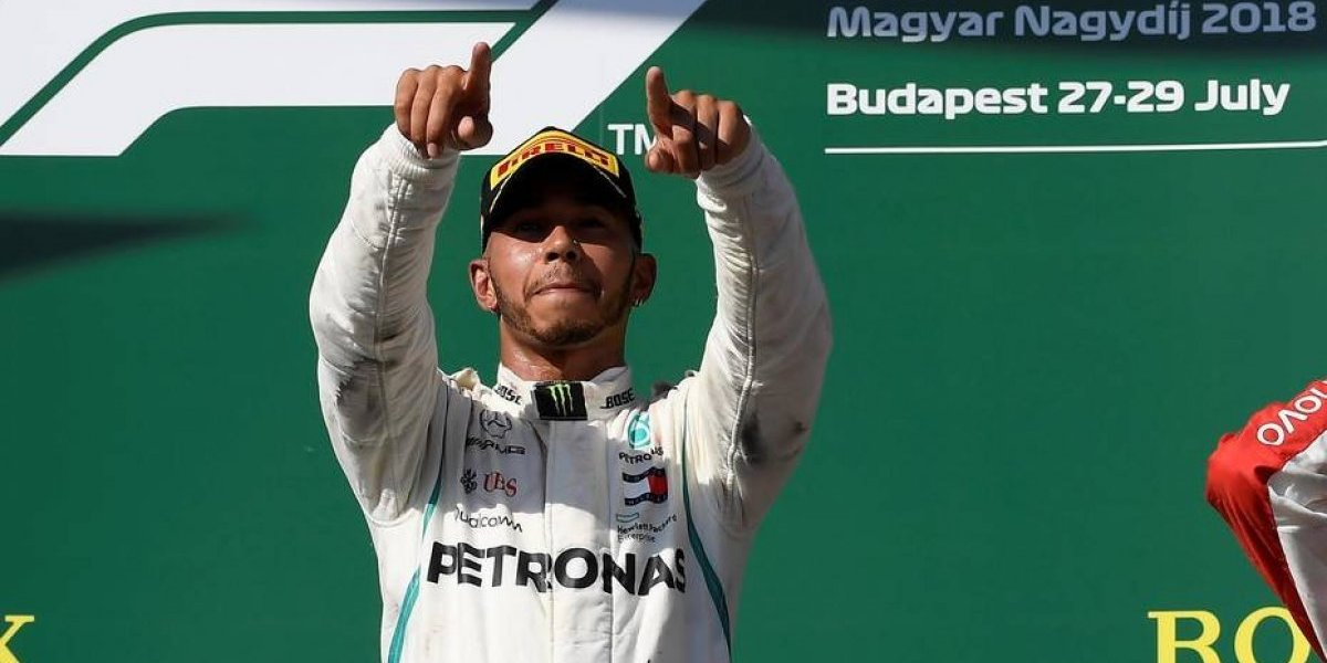 F-1. Lewis Hamilton refuerza su liderato al ganar el GP de Hungría