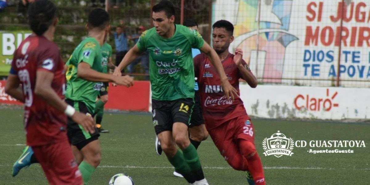 Guastatoya sale vivo del Santa Lucía tras su empate ante Malacateco