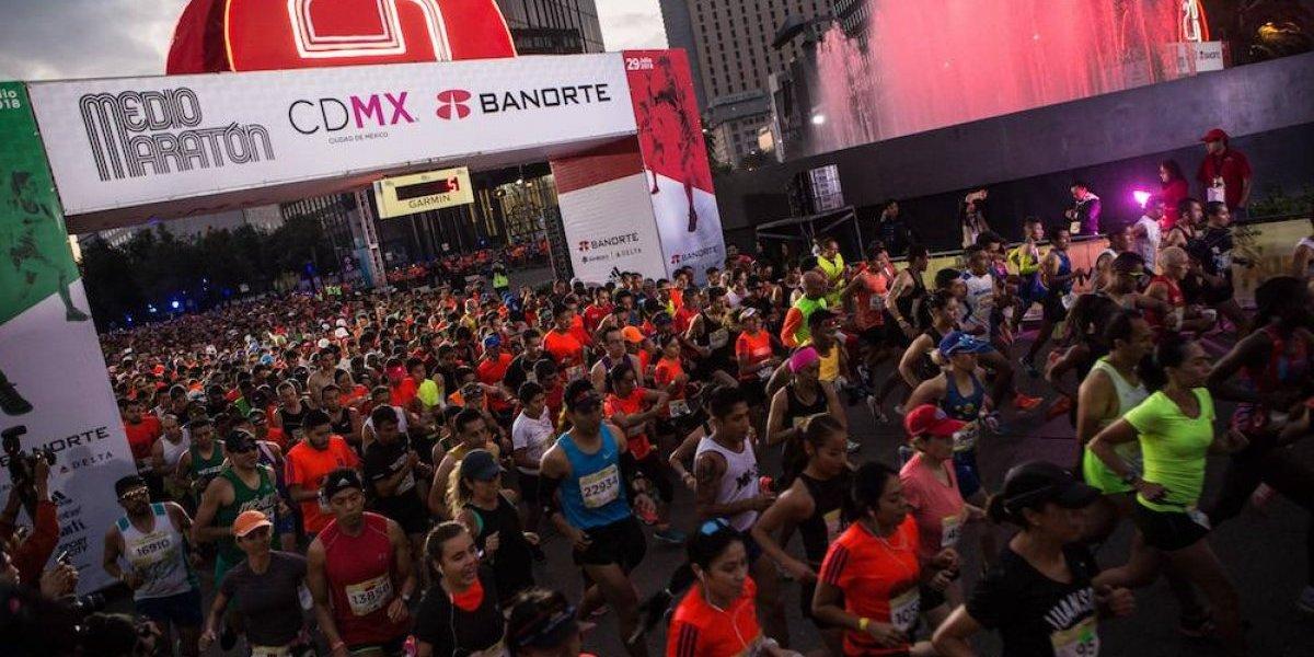 Dos personas fallecen durante el Medio Maratón de la CDMX