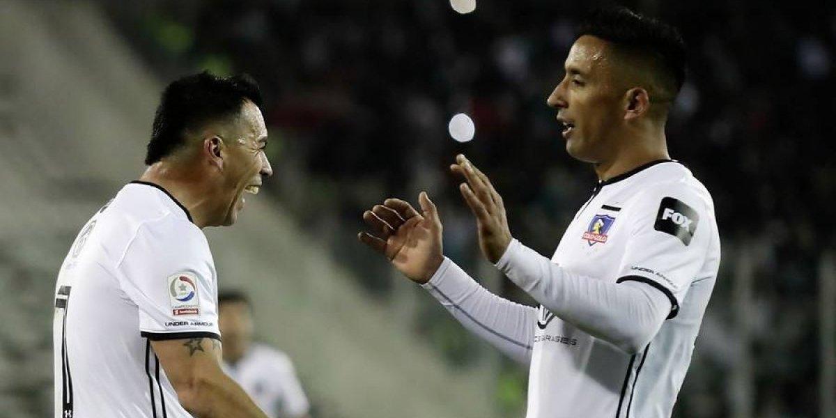 Dupla letal: Paredes y Barrios le dieron la victoria a Colo Colo que se mete con todo en la pelea por el título
