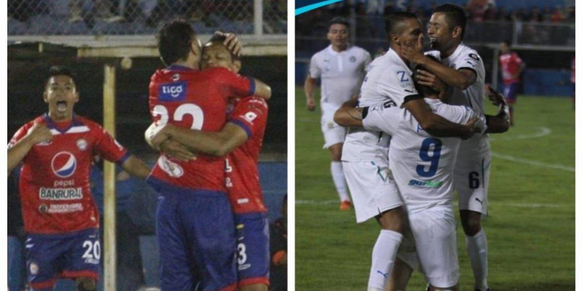 Mexicanos fueron protagonistas en el empate entre Xelajú y Comunicaciones