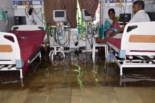 El monzón ha inundado varias regiones en India. AFP
