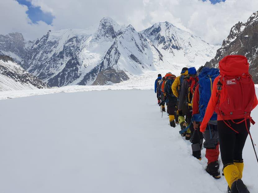 La expedición al K2