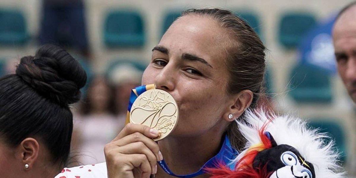 ¡Tres oros corridos! Mónica Puig repite en la cima del tenis