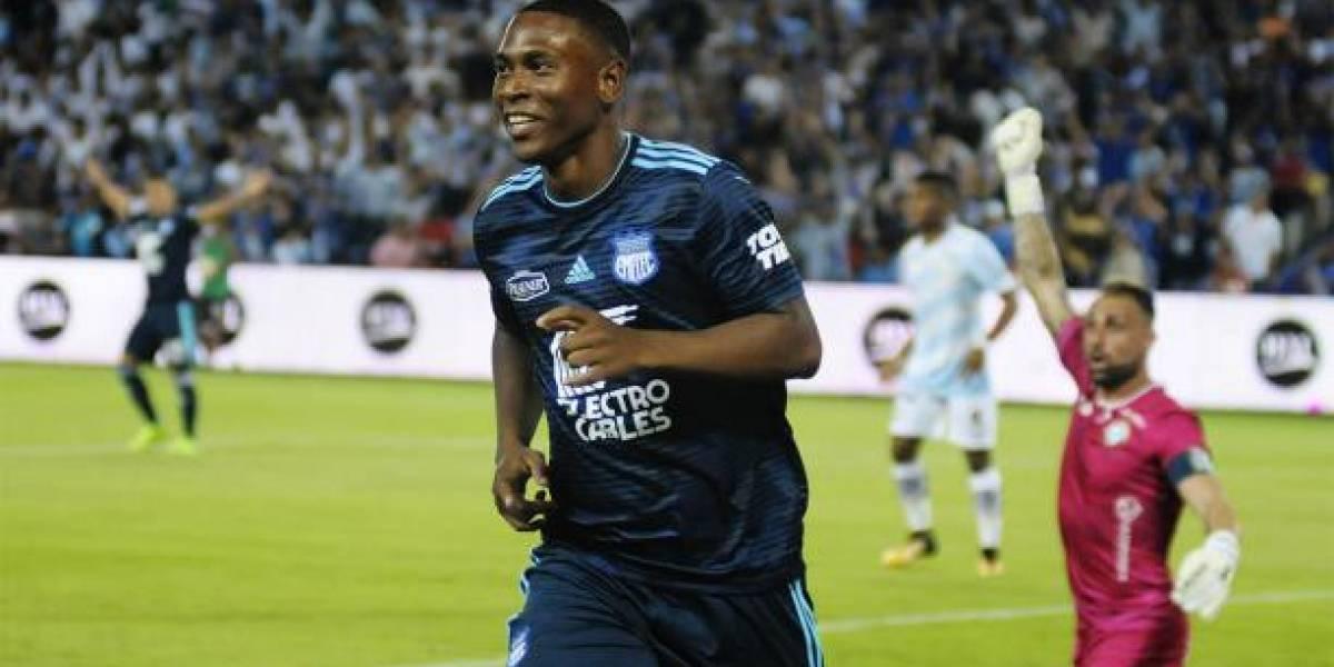 Deportivo Lara vs Emelec: El lamento de 'Cuco' Angulo tras fallar el penal