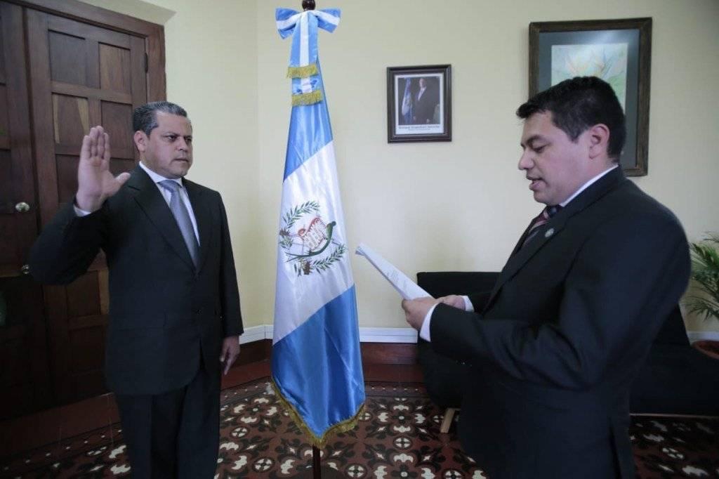 Juramentan a nuevo director del Sistema Penitenciario Camilo Morales