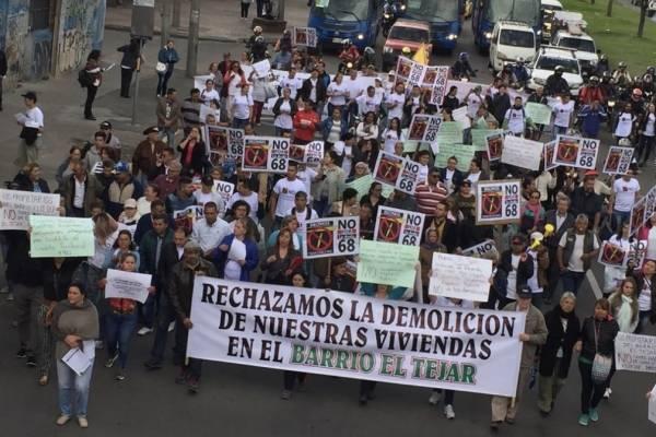TransMilenio por la Av. 68