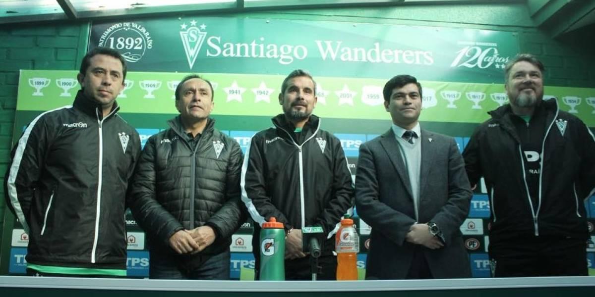 """El Cheito Ramírez cumple su deseo en Valparaíso: """"Ser DT de Wanderers siempre fue mi objetivo"""""""