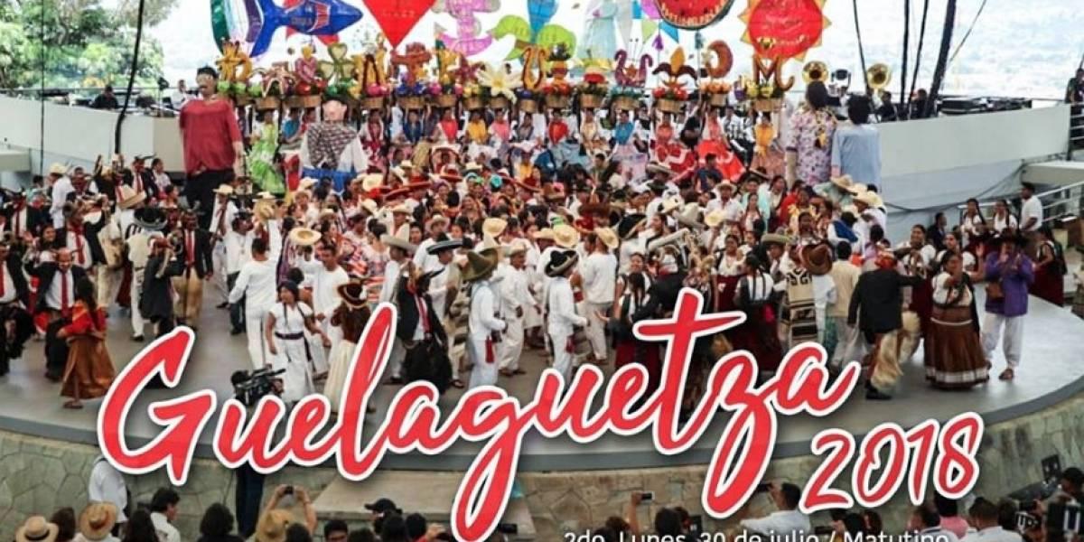 ¡Baile, música y festejo! Así se vive la Guelaguetza 2018