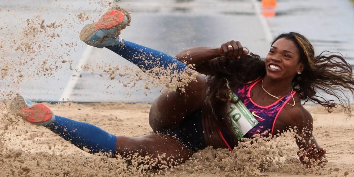 Caterine Ibargüen, oro en salto triple con nueva marca centroamericana