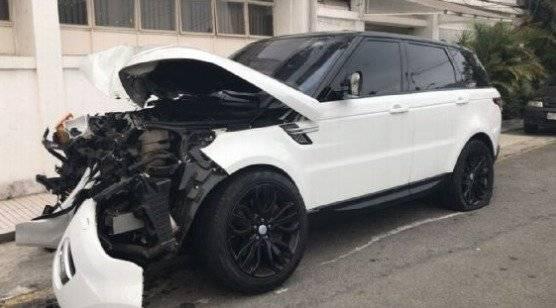Robert Arboleda sufrió accidente de tránsito en Brasil