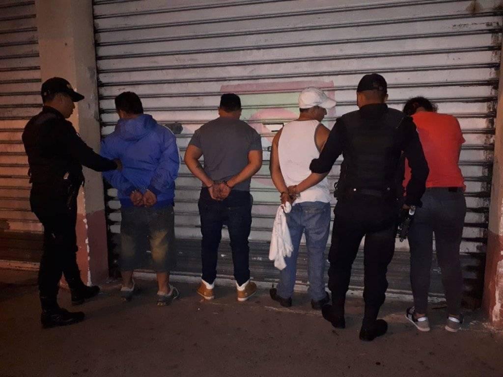 capturados por robo a taxista en zona 1