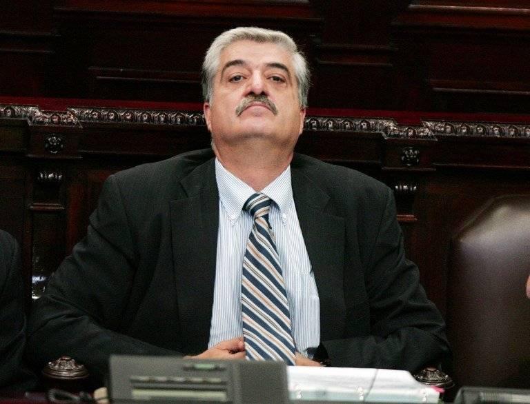Carlos Vielmann cuando era ministro de Gobernación. Foto: AFP