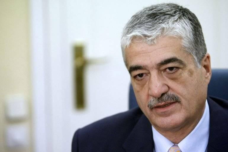 Carlos Vielmann cuando era ministro de Gobernación. Foto: EFE