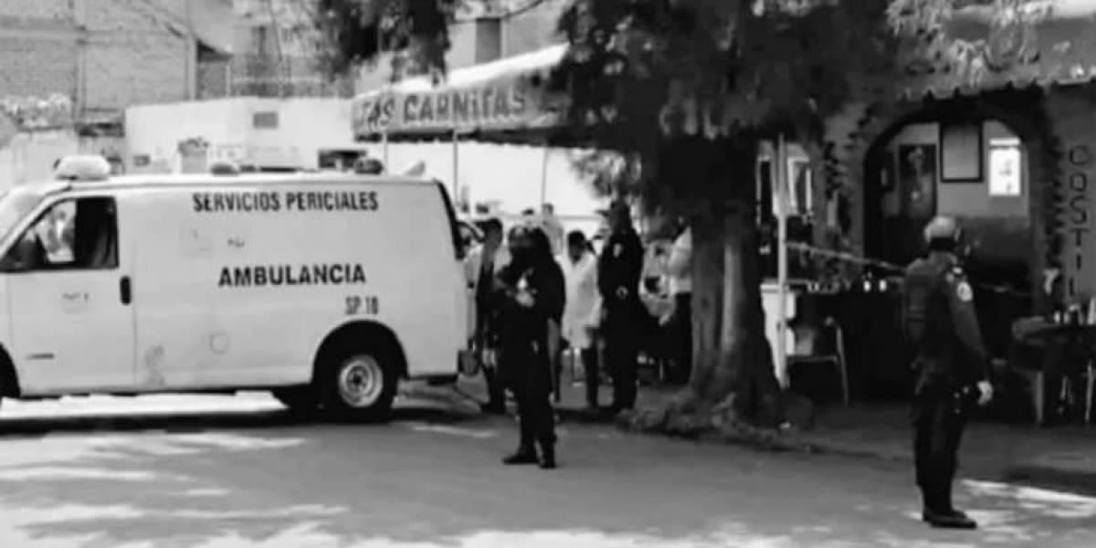 Ejecutan a abogado del Cártel de Tláhuac mientras comía tacos