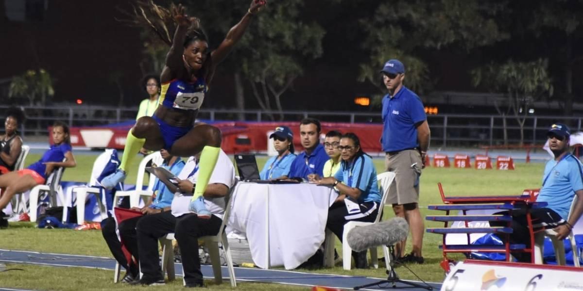 """""""Gracias a mi país por acoger a todos los deportistas"""": Caterine Ibargüen ganó su primer oro Centroamericano"""