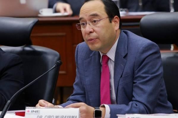Presidente de la Comisión de Fiscalización del Instituto Nacional Electoral (INE), Ciro Murayama