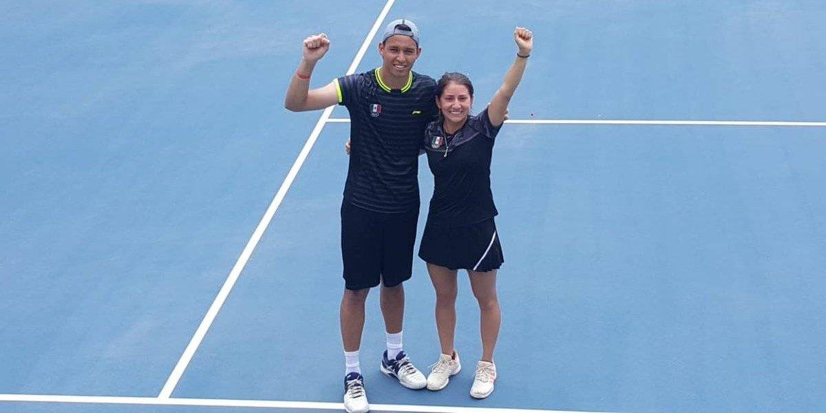 México obtiene presea de bronce en tenis