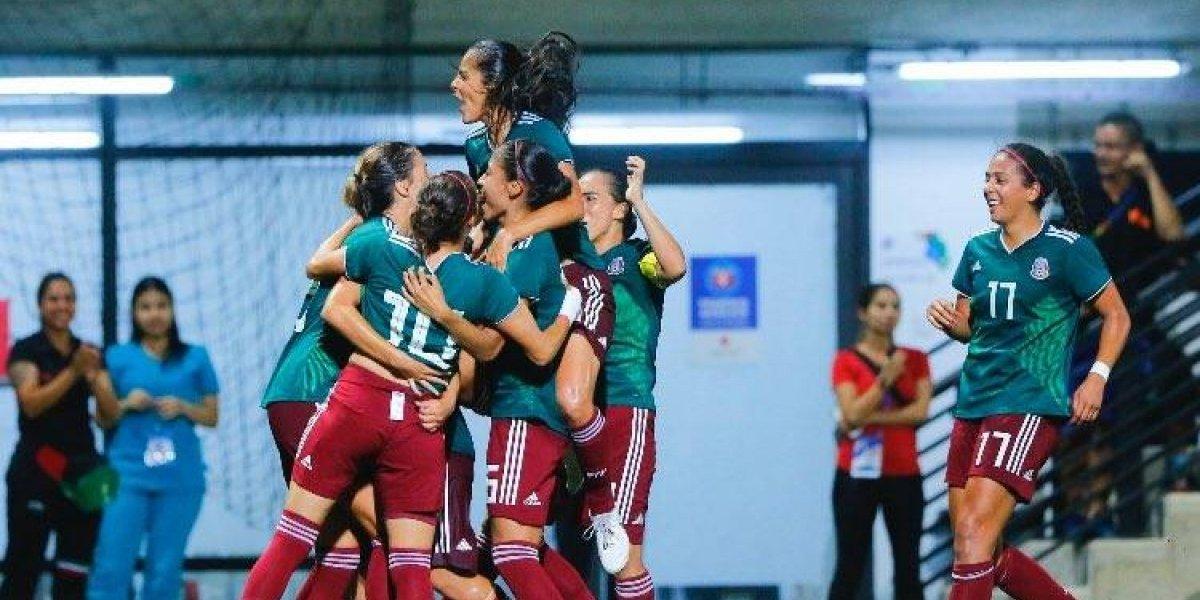 Selección femenil obtiene oro en Barranquilla 2018