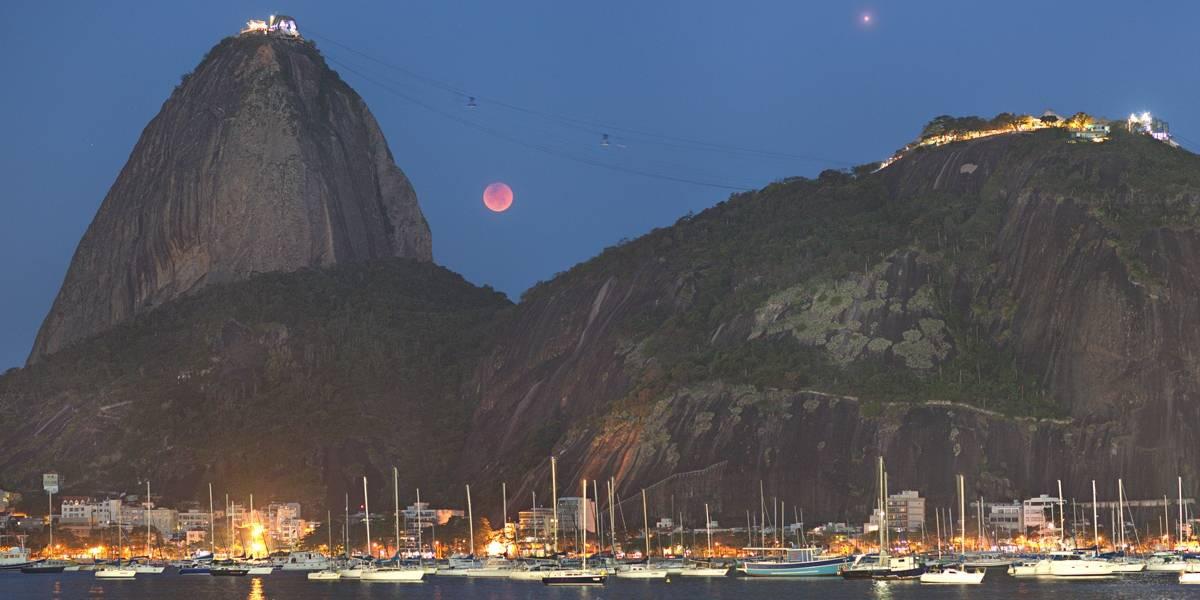 NASA destaca foto do eclipse lunar feita por brasileiro