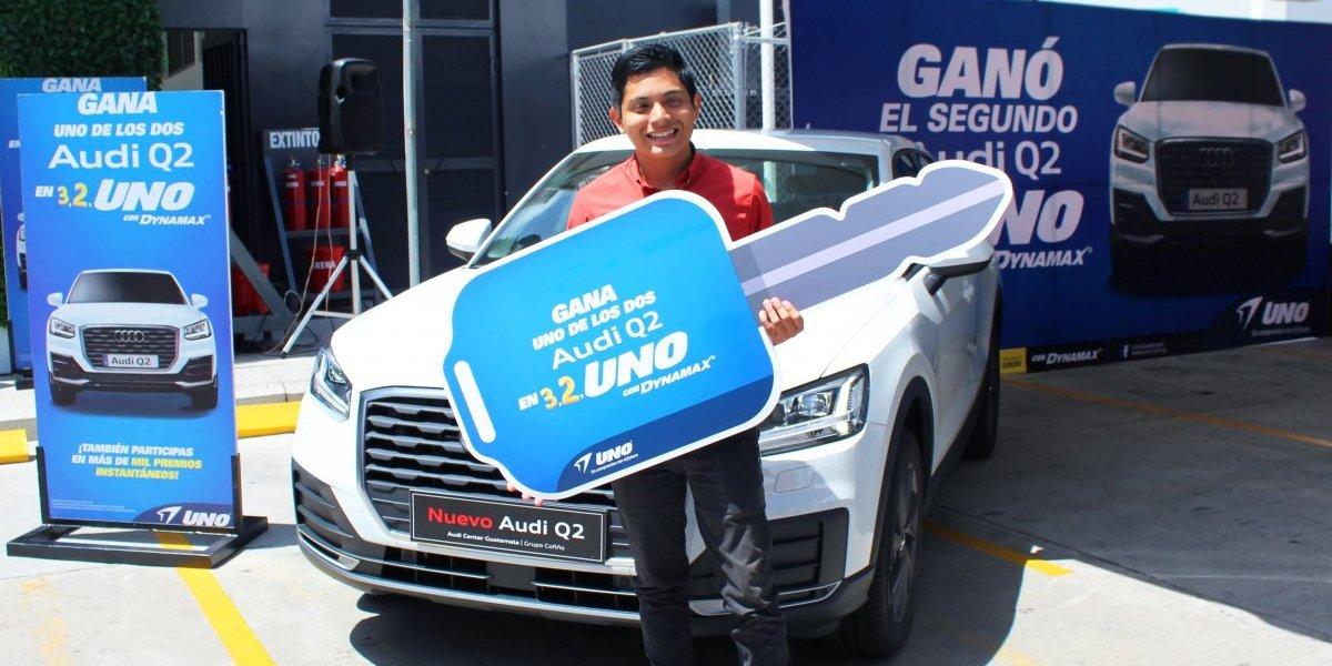 Guatemalteco participó en la promoción de UNO y recibió un Audi Q2