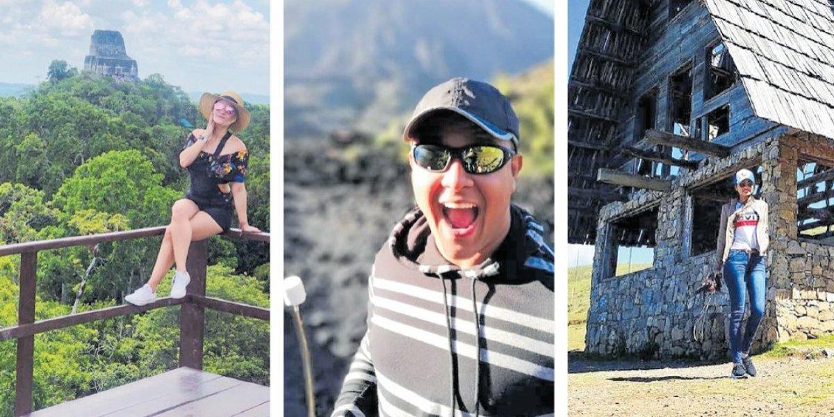 Influencers salvadoreños exaltan destinos turísticos de Guatemala