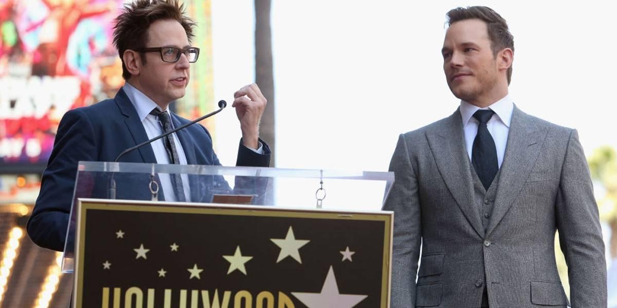 Chris Pratt e elenco de Guardiões da Galáxia pedem recontratação de James Gunn em carta