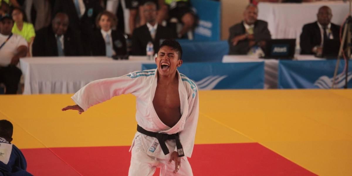 Julio Molina llena de orgullo a Guatemala con la medalla de oro en judo
