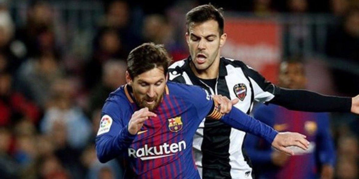 VIDEO. Messi enamora a sus seguidores con un gesto para el hijo de un rival