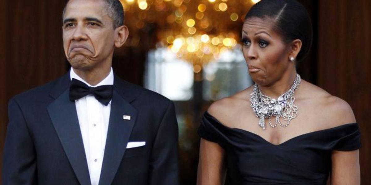 Barack y Michelle Obama bailaron en un recital