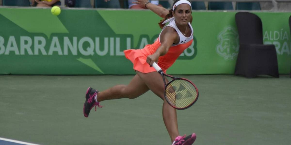 Mónica Puig venció a Mariana Duque de Colombia ganando medalla de oro en tenis