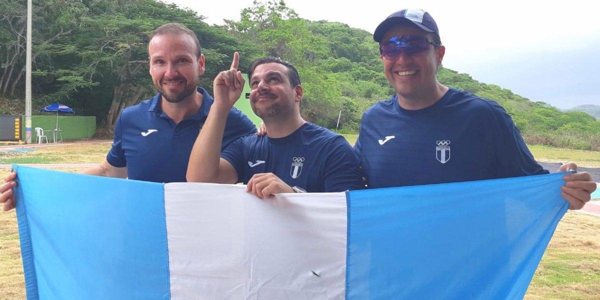Doble satisfacción de oro para Guatemala en el doble foso en los Juegos C.A. y del Caribe