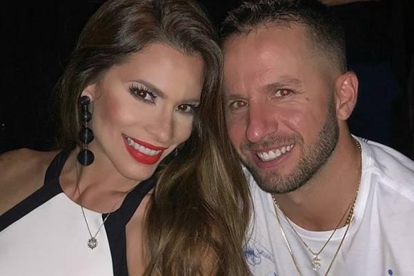 Viviana Ortiz y José Barea