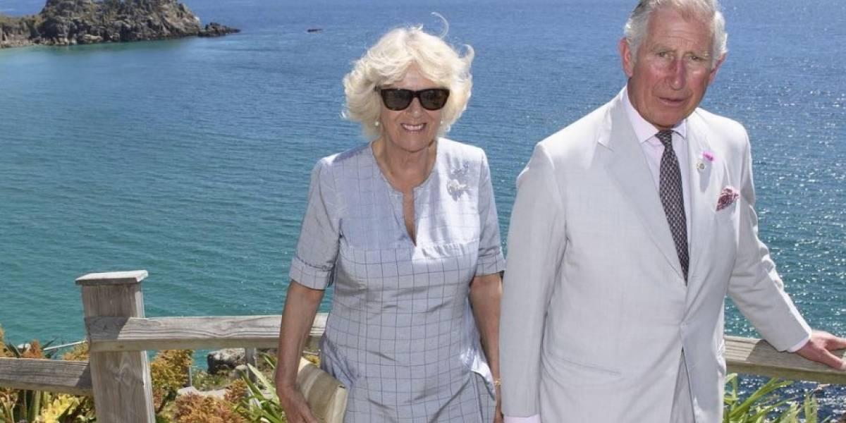 El momento bochornoso que vivió Camilla Parker durante sus vacaciones
