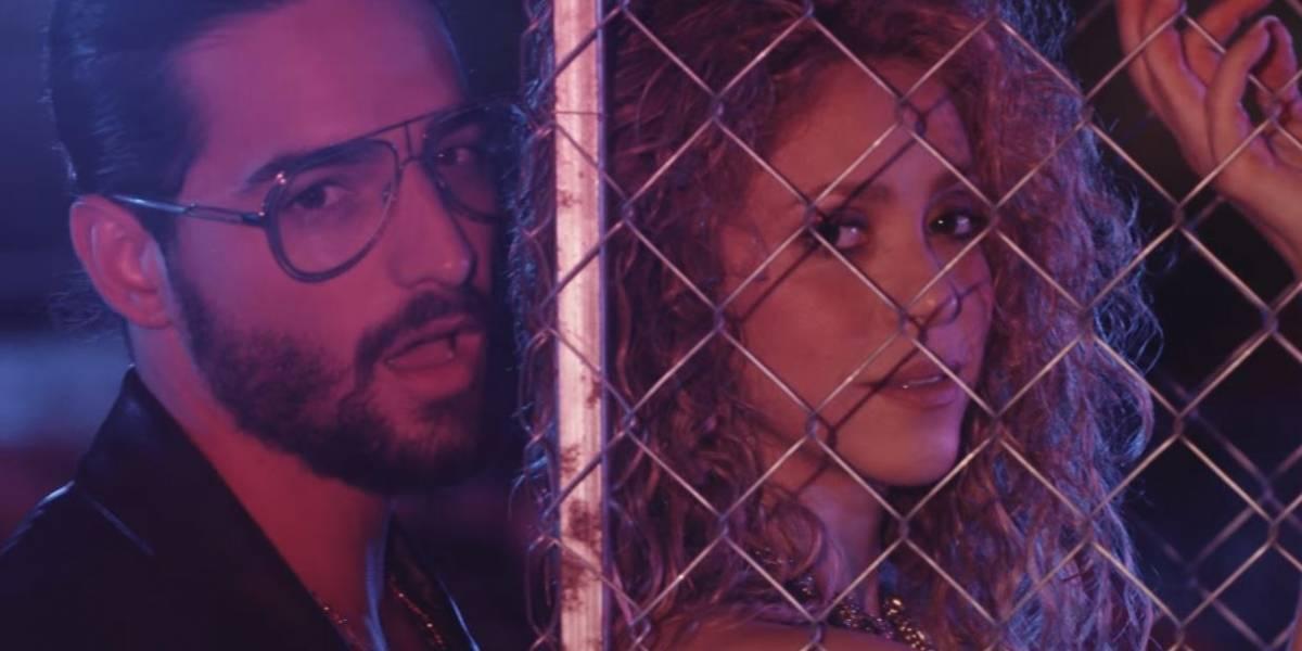 "Shakira estrenó video del tema ""Clandestino"", junto a Maluma"