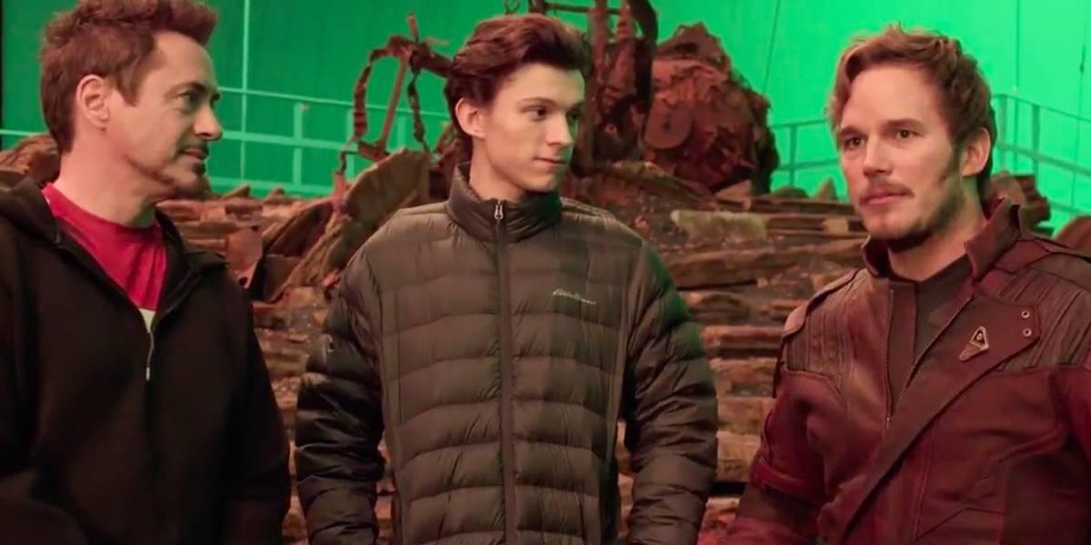 Sin comprar el Blu-ray: mira cómo se grabó la pelea contra Thanos en Infinity War