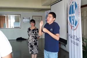 personas con discapacidad auditiva digitarán resultados del censo