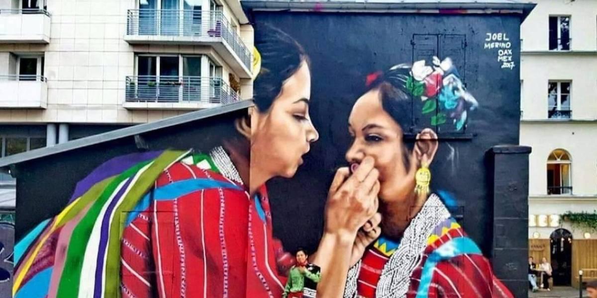 Triqui pintará murales en países de Europa