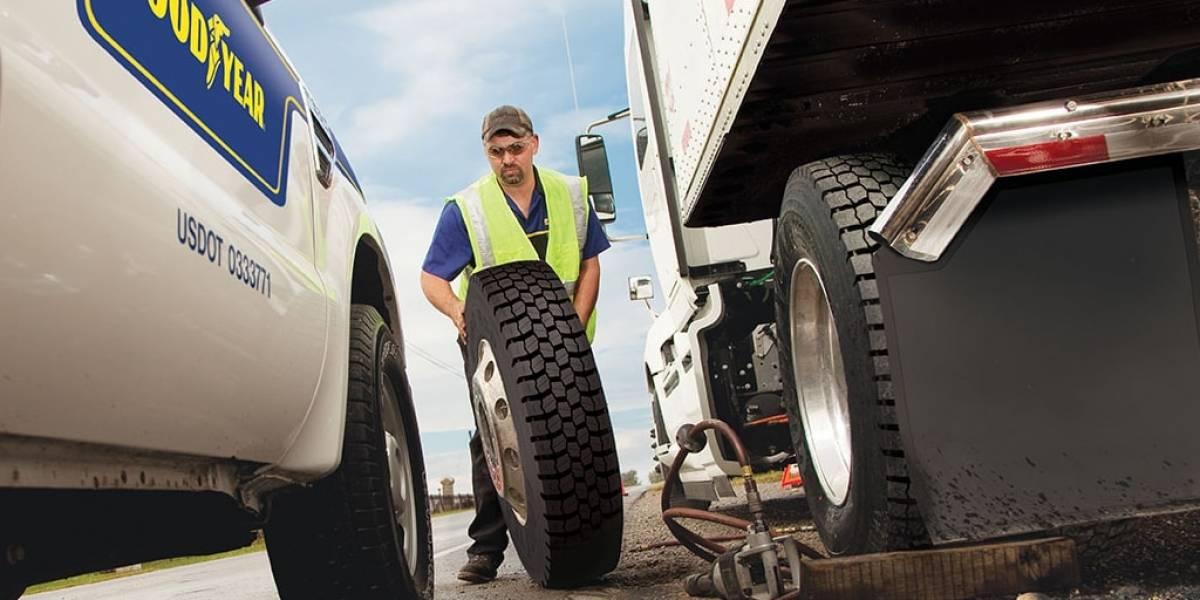Goodyear homenajea a los camioneros en su día