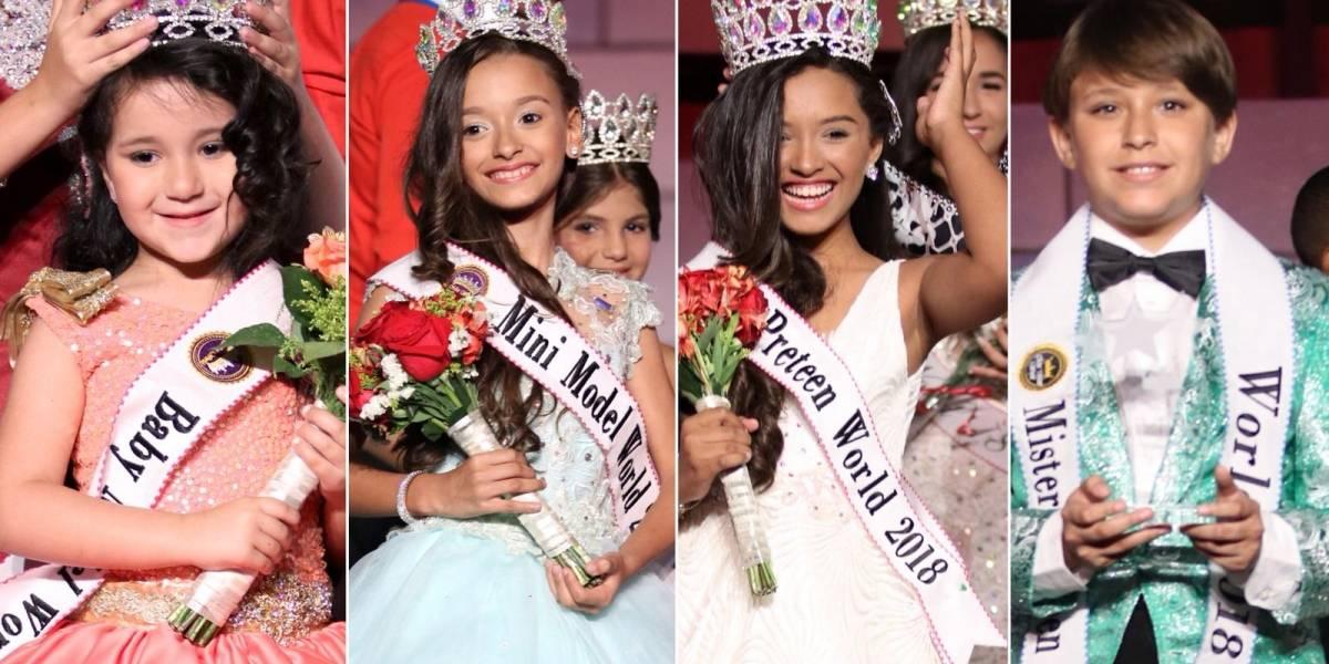 Puerto Rico logra cuatro títulos en certamen de belleza juvenil