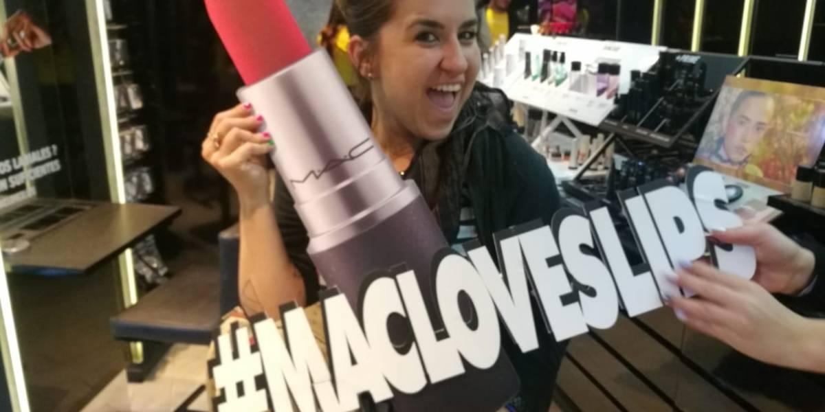 8.000 labiales de regalo en las tiendas MAC de todo el país