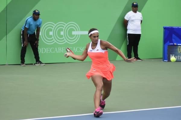 Mónica Puig - final tenis Barranquilla