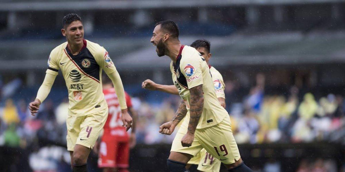Vuelan las Águilas en su debut en la Copa MX